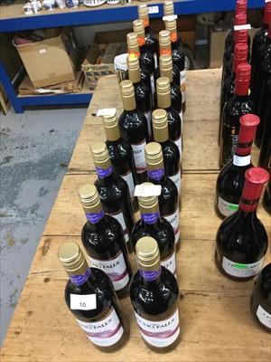 Lot 10-Red Wine- Eighteen Bottles of Echo Falls (18)