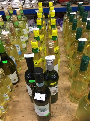Lot 19-White Wine- fifteen bottles of Romanian and other white wines (15)