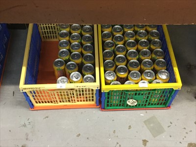 Lot 23-Beer- Desperados Tequila Beer 500ml (x51 cans) in two boxes