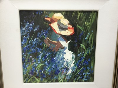 Lot 2-Sherree Valentine Daines (b. 1959), limited edition hand embellished print on canvas and book