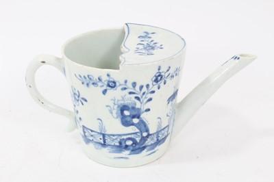 Lot 93 - Lowestoft feeding cup, c.1770
