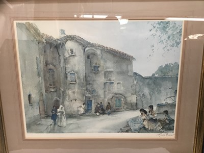 Lot 12-William Russell Flint signed limited edition print