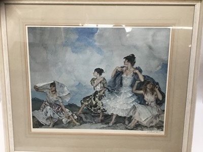Lot 11-William Russell Flint signed limited edition print
