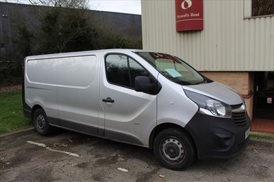Lot 1-2015 Vauxhall Vivaro 2900, 2.0 CDTi Panel Van, Registration No. YS15 XMB, finished in silver, 81,713 miles, MOT until 4th July 2020, Supplied with service history, V5 and 1 key.    N.B.  There is n...