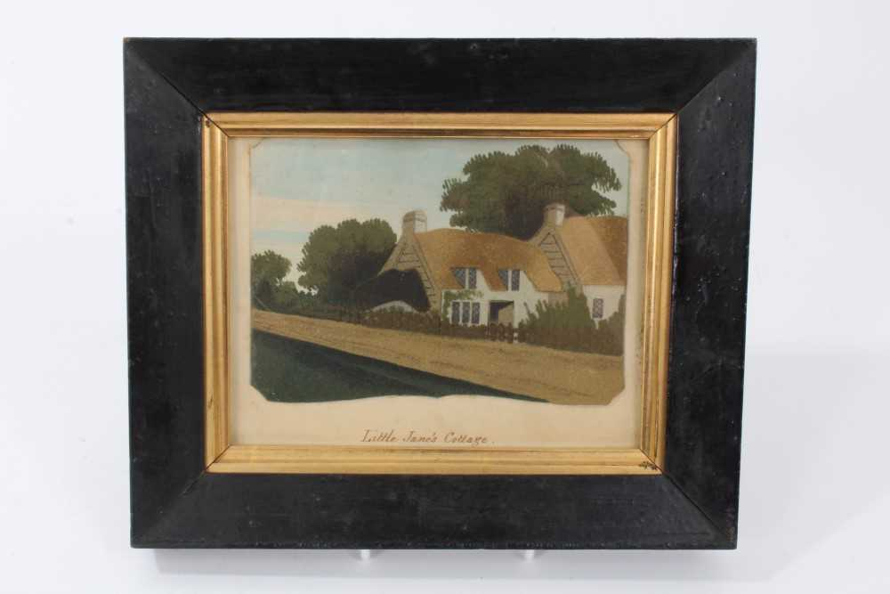 Lot 713-19th century Isle of Wight sand picture