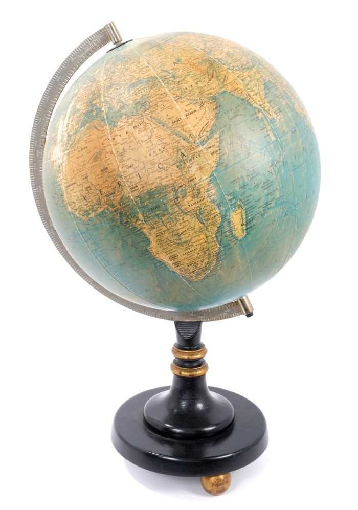 Lot 716-Mid 20th century desk globe by Scan-Globe A/S