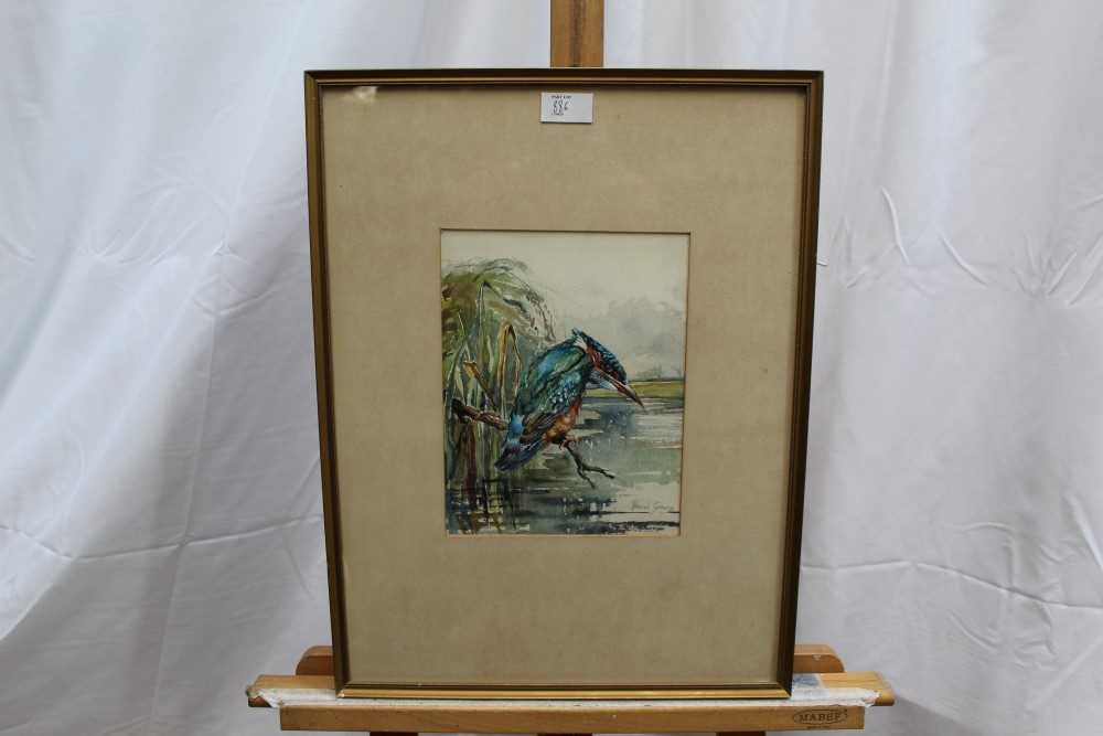 Lot 4-After Roland Green, watercolour - Golden Eagle, together with two others