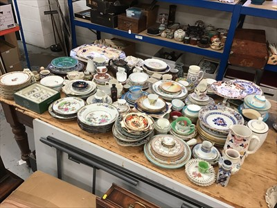 Lot 12-Large collection of 19th and 20th century ceramics