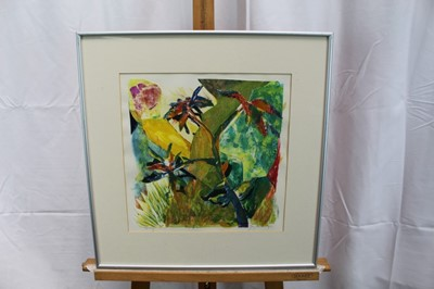 Lot 22-Gay Hutchings two collages