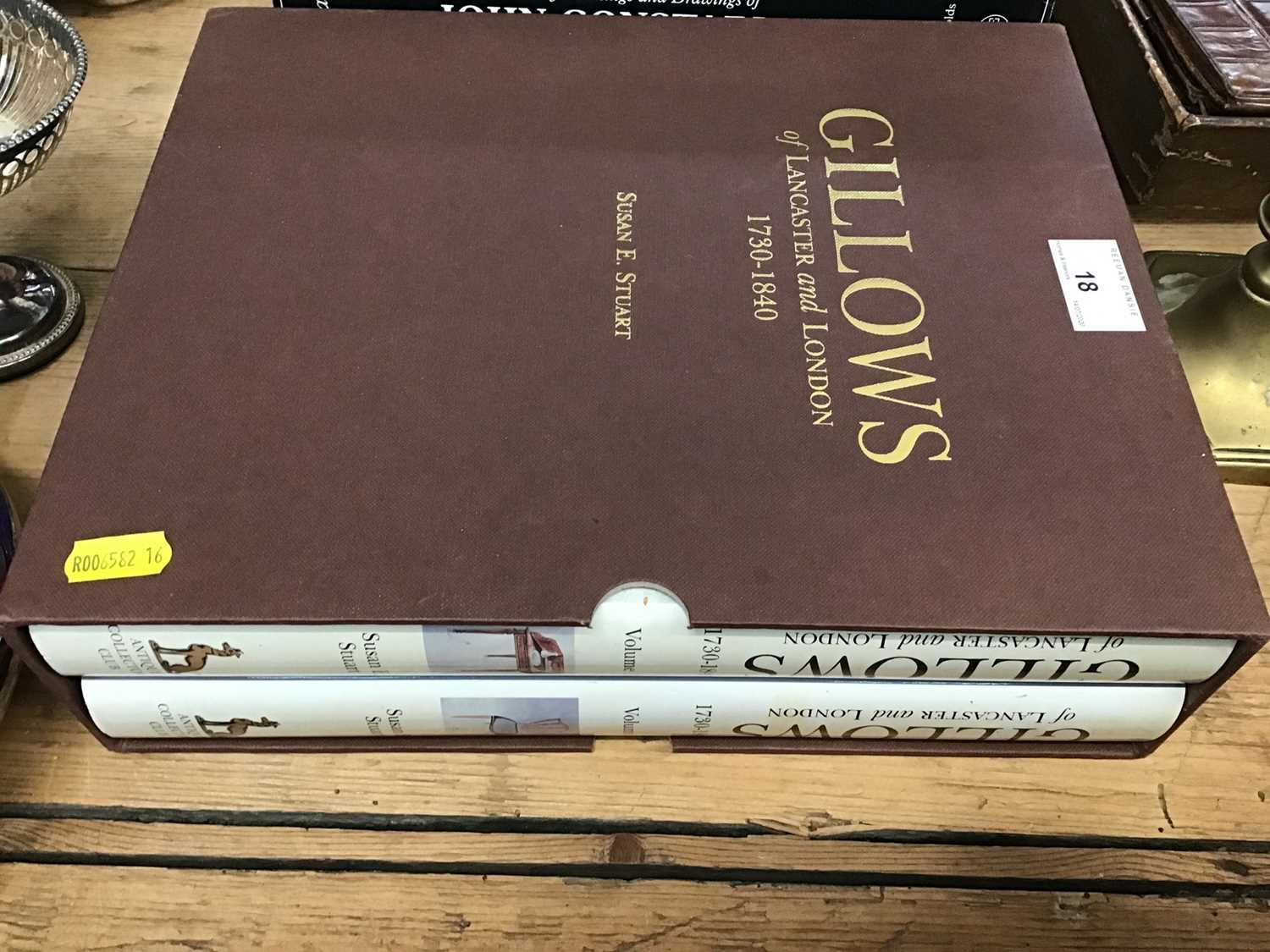 Lot 18-Gillows furniture reference books