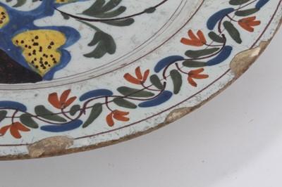 Lot 29-18th century Delft dish
