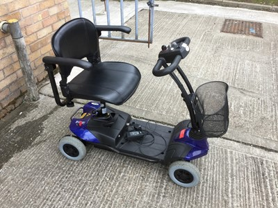 Lot 6-Drive ST1 mobility scooter with charger