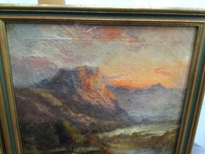 Lot 16-F E Jamieson - pair of oils on canvas loch scenes