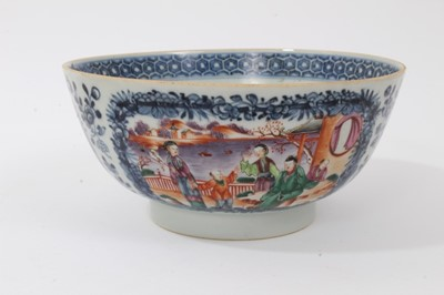 Lot 12-Group of 18th century Chinese porcelain