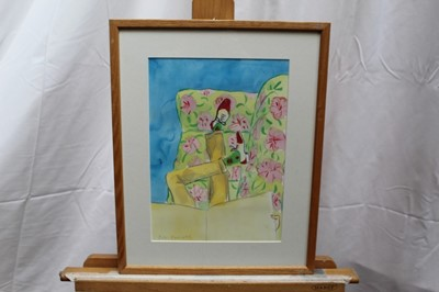 Lot 9-Peter Campbell (1931-1989) watercolour - four works