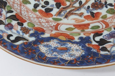 Lot 18-18th century Chinese Plate