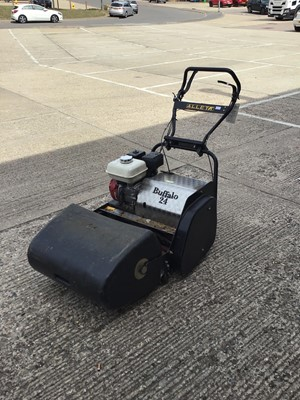 Lot 3-Alley Buffalo 24 petrol lawn mower