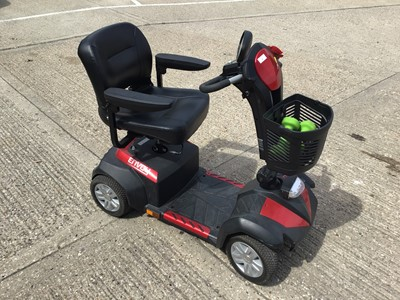Lot 1-Envoy mobility scooter with charger