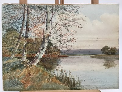 Lot 2-Walter Witham watercolour