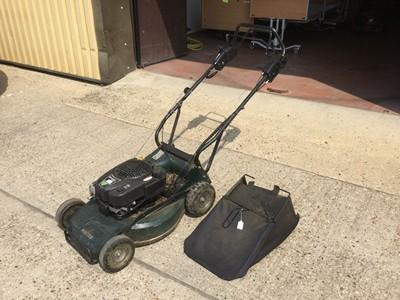 Lot 7-Hayter Ranger Pro 53 Petrol lawnmower with grass box