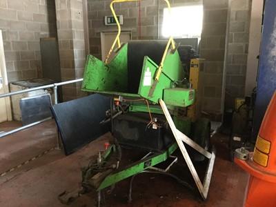 Lot 13-SCH Waste Wacker Minor trailed Wood Chipper