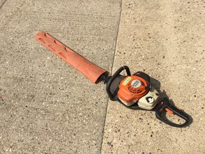 Lot 18-STIHL HS 81RC petrol hedge trimmer