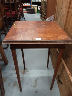 Lot 38 - Inlaid table