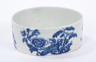 Lot 10-Rare Christians Liverpool blue and white potting pot