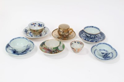 Lot 17-Collection of 18th century Chinese porcelain