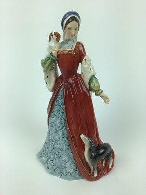 Lot 9-Royal Doulton limited edition figure - Anne Boleyn HN3232, no 1362 of 9500, with certificate