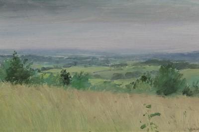 Lot 6-John Osborne framed oil on board - landscape