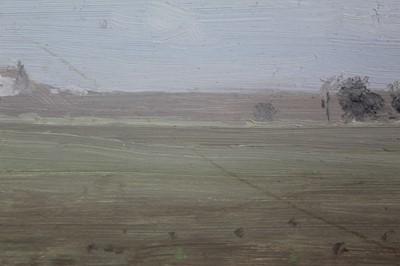 Lot 7-John Osborne framed oil on board - landscape