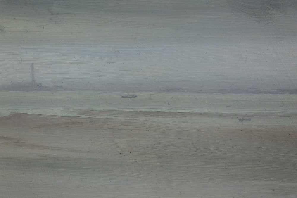 Lot 8-John Osborne framed oil on board - seascape
