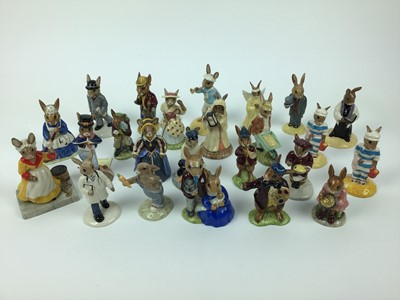 Lot 184 - Twenty-four Bunnykins figures