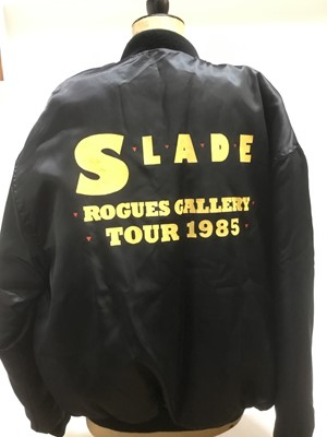 Lot 2-It's Christmas! - Slade jacket gifted by the band