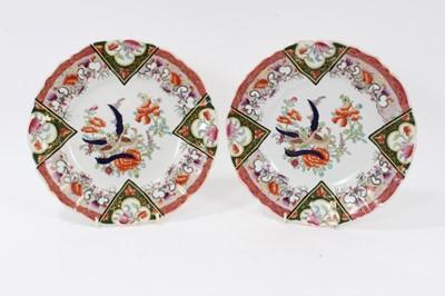 Lot 76 - A good pair of Masons Ironstone plates