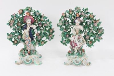 Lot 72 - A pair of Bow figures of 'New Dancers', circa 1765
