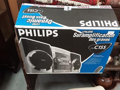 Lot 4-Phillips Hi-Fi system, boxed