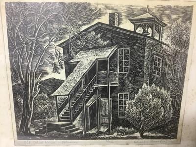 Lot 58 - Charles Frederick Surendorf 1906-1979) two woodcut prints