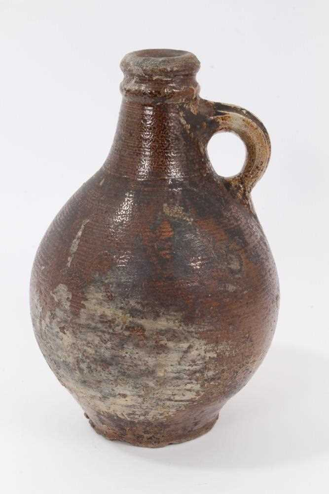 Lot 7-17th/18th century bellarmine type jug