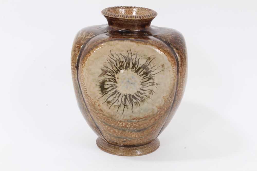 Lot 8-Martin Brothers pottery vase