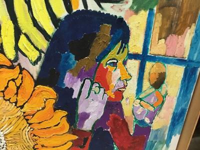 Lot 424 - *John Randall Bratby (1928-1992) oil on canvas