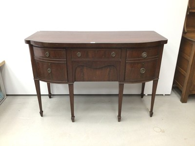 Lot 41 - Edwardian mahogany sideboard in the Georgian style