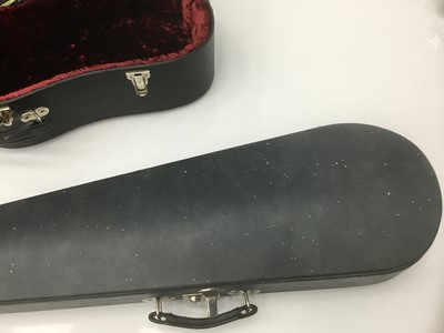 Lot 11-Good quality violin case by Paxman Ltd. with green velvet lining, together with two further by Paxman. (3)