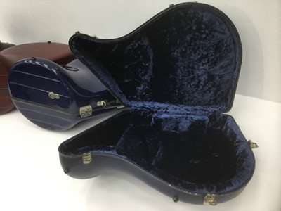 Lot 13-Four French horn cases