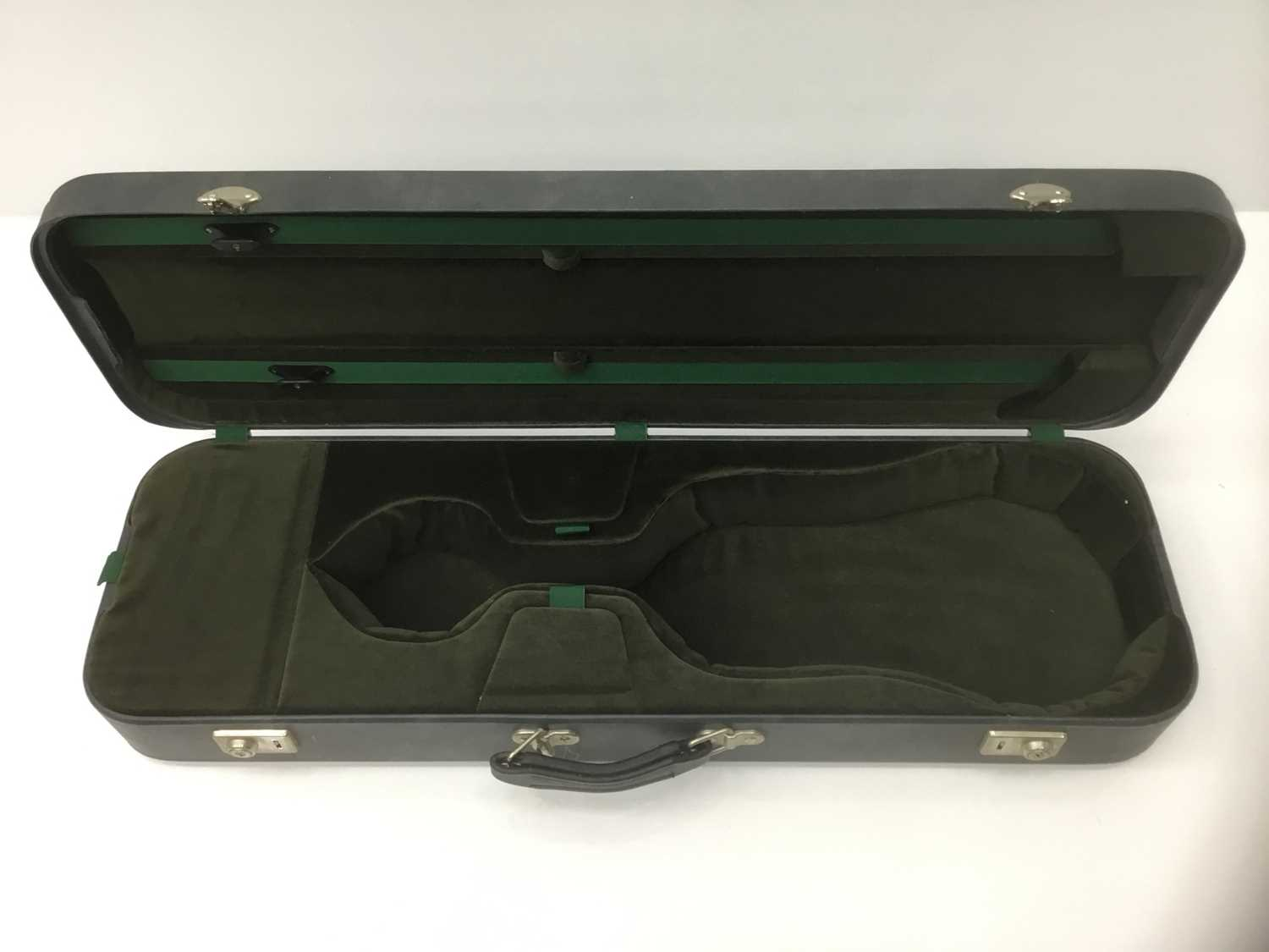 Lot 16-Good quality fitted violin case