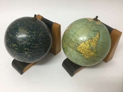 Lot 9-Pair of vintage bookends