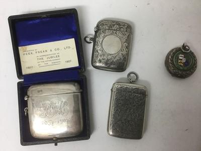 Lot 22-Three silver vestas