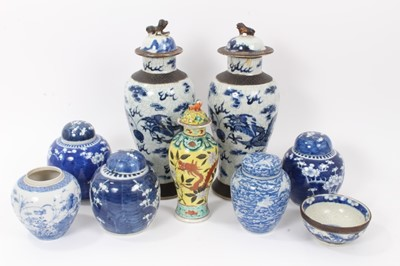 Lot 7 - Group of 19th century Oriental ceramics