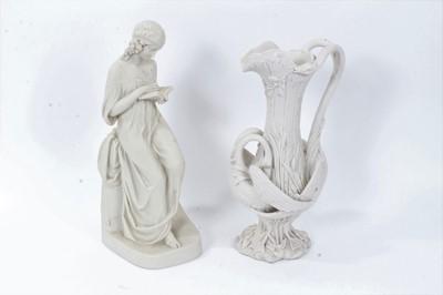 Lot 9 - Copeland Parianware figure